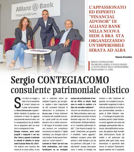 Sergio Contegiacomo - copertina IDEA nuovo ufficio